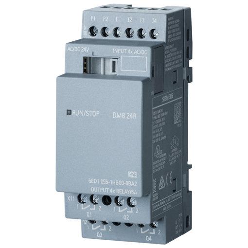 Module mở rộng 4DI/4DO LOGO! DM8 24R 6ED1055-1HB00-0BA2