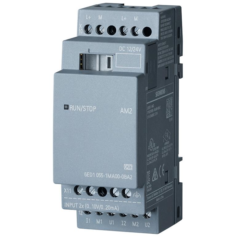 Module mở rộng 2 AI 0-10V, 0/4-20mA LOGO! AM2 6ED1055-1MA00-0BA2