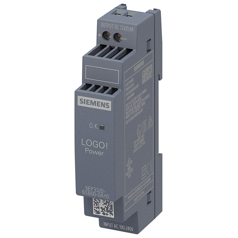 Module nguồn 12VDC/0.9A LOGO! POWER 6EP3320-6SB00-0AY0