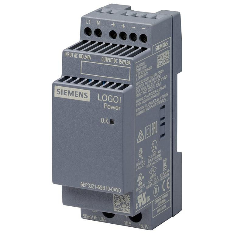 Module nguồn 15VDC/1.9A LOGO! POWER 6EP3321-6SB10-0AY0