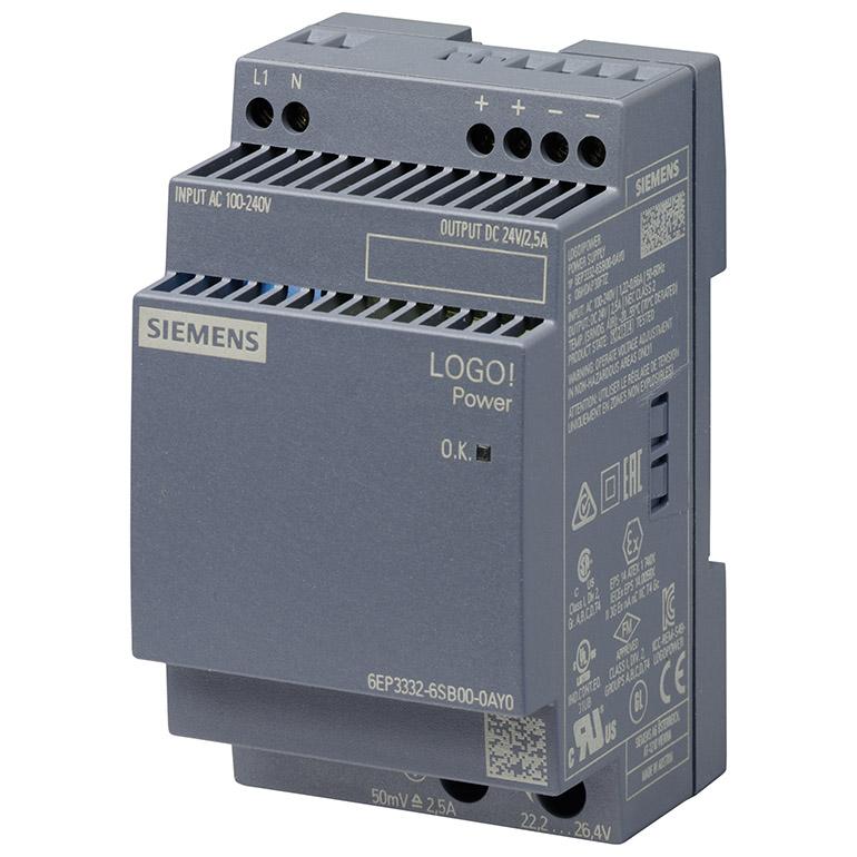 Module nguồn 24VDC/2.5A LOGO! POWER 6EP3332-6SB00-0AY0