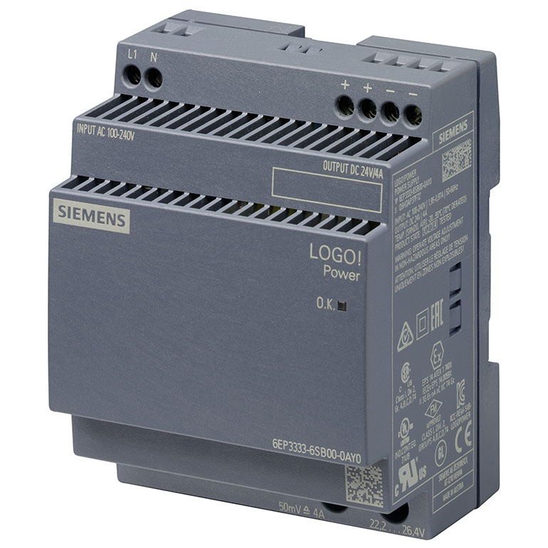 Module nguồn 24VDC/4A LOGO! POWER 6EP3333-6SB00-0AY0