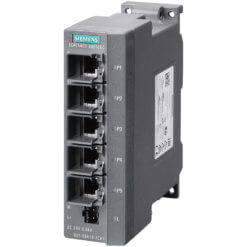 Switch công nghiệp 5 cổng RJ45 10/100 Mbit/s SCALANCE X005EEC Unmanaged & Layer 2 6GK5005-0BA10-1CA3