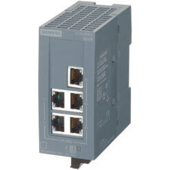 Switch công nghiệp 5 ports 10/100/1000 Mbit/s SCALANCE XB005G Unmanaged & Layer 2 6GK5005-0GA10-1AB2