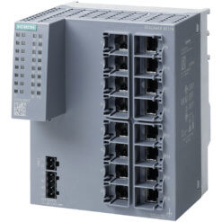 Switch công nghiệp 16 cổng RJ45 10/100 Mbit/s SCALANCE XC116 Unmanaged & Layer 2 6GK5116-0BA00-2AC2