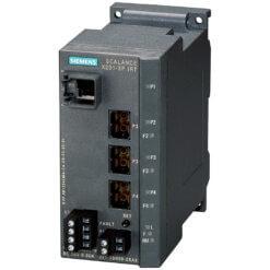 Switch công nghiệp 1 cổng RJ45 10/100 Mbit/s + 3 cổng POF SC RJ 100 Mbit/s SCALANCE X201-3PIRT Managed & Layer 2 6GK5201-3BH00-2BA3