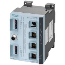 Switch công nghiệp 1 cổng Push Pull RJ45 10/100 Mbit/s + 3 cổng Push Pull SCRJ 100 Mbit/s SCALANCE X201-3PIRT PRO Managed & Layer 2 6GK5201-3JR00-2BA6