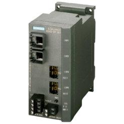 Switch công nghiệp 2 cổng RJ45 10/100 Mbit/s + 2 cổng POF SC RJ 100 Mbit/s SCALANCE X202-2PIRT Managed & Layer 2 6GK5202-2BH00-2BA3