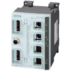 Switch công nghiệp 2 cổng Push Pull RJ45 10/100 Mbit/s + 2 cổng Push Pull SCRJ 100 Mbit/s SCALANCE X202-2PIRT PRO Managed & Layer 2 6GK5202-2JR00-2BA6