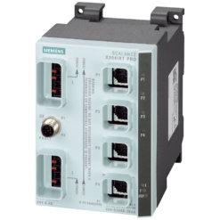 Switch công nghiệp 4 cổng Push Pull RJ45 10/100 Mbit/s SCALANCE X204IRT PRO Managed & Layer 2 6GK5204-0JA00-2BA6
