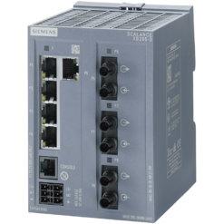 Switch công nghiệp 5 cổng RJ45 10/100 Mbps + 3 cổng MM FO ST + 1 cổng quản lý (EtherNet/IP) SCALANCE XB205-3 Managed & Layer 2 6GK5205-3BB00-2TB2