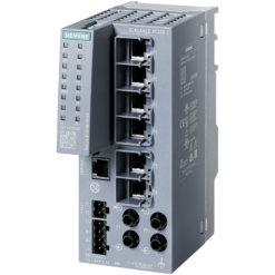Switch công nghiệp 6 cổng RJ45 100 Mbps + 2 cổng ST/BFOC 100 Mbps + 1 cổng quản lý SCALANCE XC206-2 Managed & Layer 2 6GK5206-2BB00-2AC2