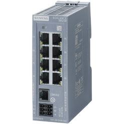 Switch công nghiệp 8 cổng RJ45 10/100 Mbps + 1 cổng quản lý (PROFINET) SCALANCE XB208 Managed & Layer 2 6GK5208-0BA00-2AB2