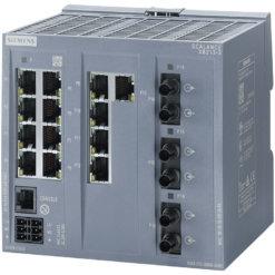 Switch công nghiệp 13 cổng RJ45 10/100 Mbps + 3 cổng ST Multimode + 1 cổng quản lý (PROFINET) SCALANCE XB213-3 Managed & Layer 2 6GK5213-3BB00-2AB2