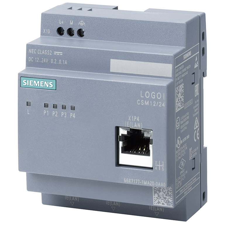 LOGO! CSM 12/24 Compact Switch Module 6GK7177-1MA20-0AA0