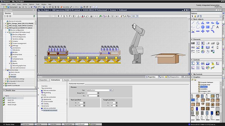 Phần mềm SIMATIC WinCC Engineering TIA Portal
