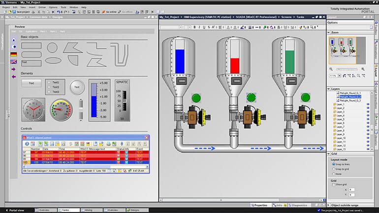 SIMATIC WinCC Runtime Professional (SCADA)