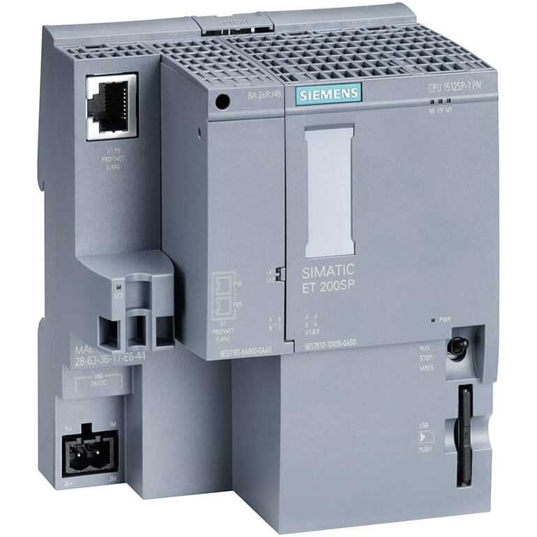 SIMATIC DP CPU 1512SP-1 PN cho ET 200SP 6ES7512-1DK01-0AB0