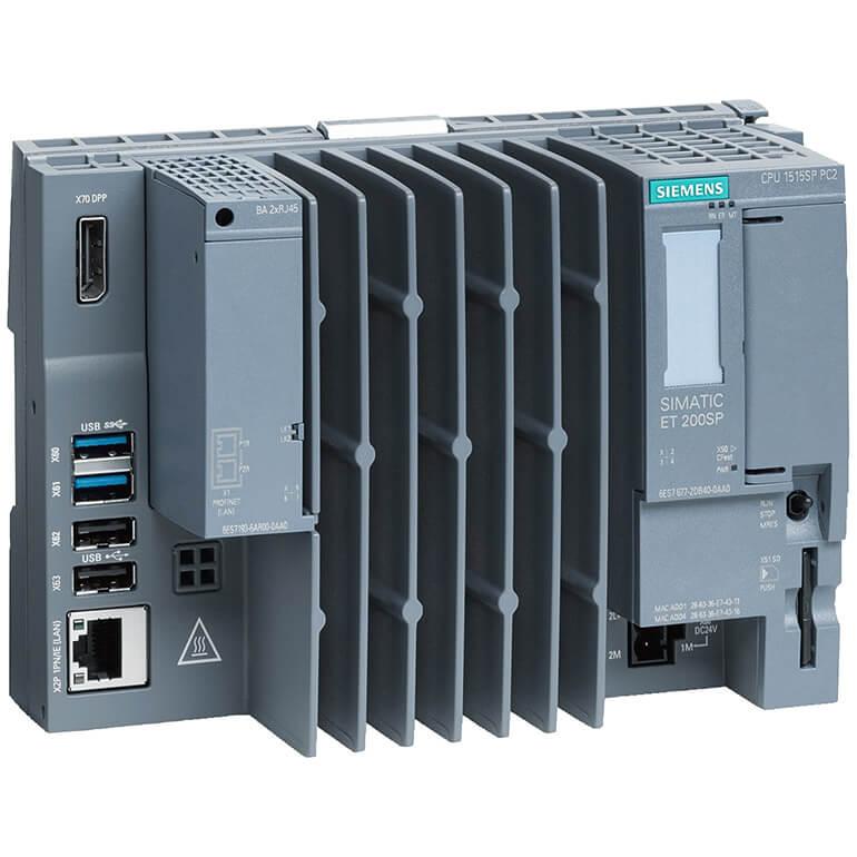 SIMATIC ET 200SP, CPU 1515SP PC2, 8GB RAM, 128GB CFAST, Win 10 IoT E 64bit 6ES7677-2DB42-0GB0